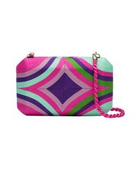 Natori - Pink Beatriz Clutch Multi - Lyst