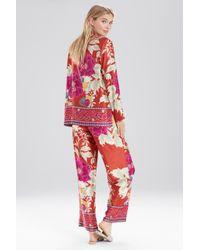 Natori - Red Auburn Floral Pj - Lyst