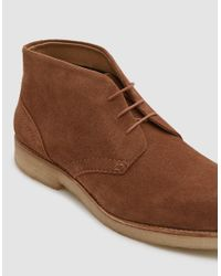 H by Hudson - Brown Hatchard Suede Boot for Men - Lyst