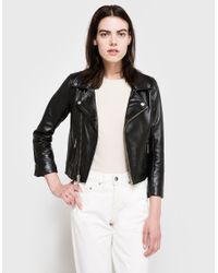 Ganni Black Passion Biker Jacket