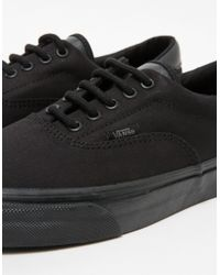 Vans - Era 59 Mono T&l Black for Men - Lyst