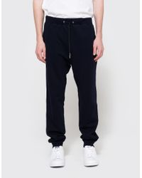 Handvaerk - Blue Ft Sweatpants In Dark Navy for Men - Lyst