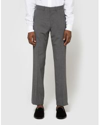 Theory | Gray Marlo Pant In Charcoal for Men | Lyst