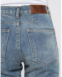 Objects Without Meaning - Blue Boy Zip Patch Jean - Lyst