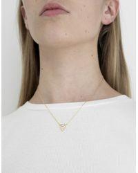 Need Supply Co. | Metallic Alma Necklace | Lyst