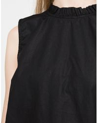 Need Supply Co. - Multicolor Gathered Mock Neck In Black - Lyst