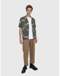 Neighborhood - Black Aloha Ss Shirt for Men - Lyst