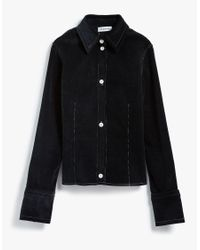 Need Supply Co. | Black Corduroy Contrast Stitch Shirt | Lyst
