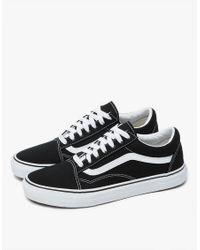 Vans - Multicolor Old Skool In Black/true White - Lyst