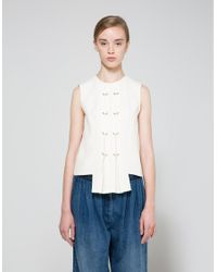 Need Supply Co. - Blue Panel Top - Lyst
