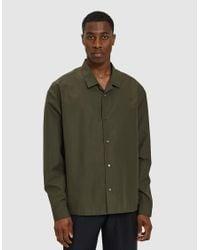 Jil Sander - Piega Shirt In Military Green for Men - Lyst