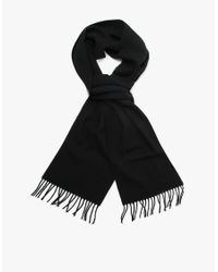 Norse Projects | Black Norse X Johnstons Lambswool Scarf for Men | Lyst
