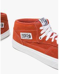 Vans - Red Ua Half Cab In Tandori Spice for Men - Lyst