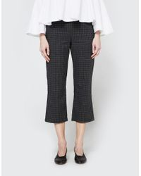 Stelen | Gray Plaid Cropped Pant | Lyst