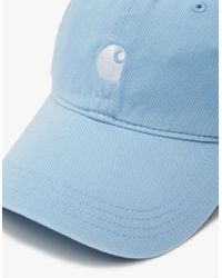 561e21fe0d9 Lyst - Carhartt Wip Major Cap In Glacier white in Blue for Men