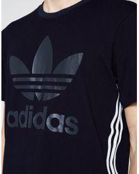 Adidas Originals - Blue Tokyo Tee Indigo for Men - Lyst