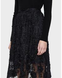 Stelen - Black Elsa Skirt - Lyst