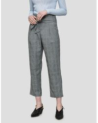 Just Female - Blue Edith Trousers - Lyst
