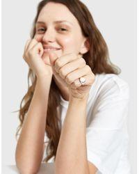 J. Hannah - Metallic Pinky Signet Ring - Lyst