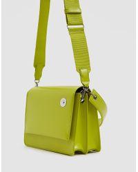 Kara - Green Pinch Shoulder Bag - Lyst