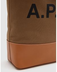 A.P.C. - Multicolor Axel Tote Bag - Lyst