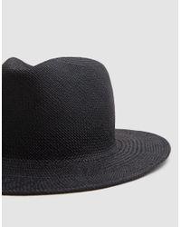 Clyde - Black Shade Straw Hat - Lyst