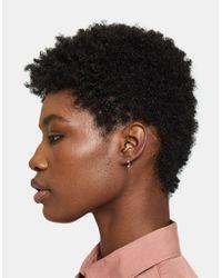 Loren Stewart - Metallic Gemstone Hook Earring - Lyst