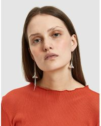 Pamela Love - Metallic Anemone Earrings - Lyst