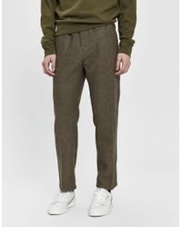 e7a399a93e92f0 Stussy Tweed Beach Pant in Brown for Men - Lyst
