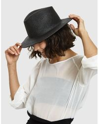 Clyde - Shade Hat In Black - Lyst