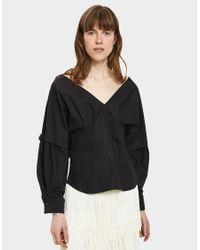 Rachel Comey - Black Revise Crisp Shirt - Lyst