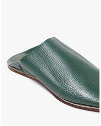 Need Supply Co. - Babouche Slides In Dark Green - Lyst