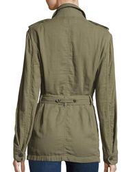 Rag & Bone   Green Bennett Utility Army Jacket   Lyst