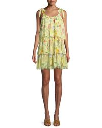 Parker - Yellow Vicky Dress - Lyst