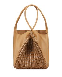 Paco Rabanne - Natural Pliage Twist Sleek Hobo Tote Bag - Lyst