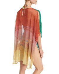 Missoni | Multicolor Ombré Open-knit Coverup | Lyst