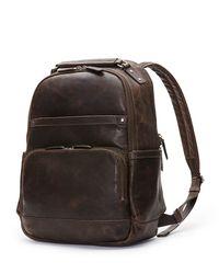 Frye | Black Logan Men's Leather Backpack for Men | Lyst
