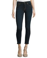 CJ by Cookie Johnson | Blue Wisdom Skinny Ankle Jeans | Lyst