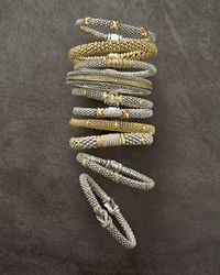 Lagos - Metallic Diamond Lux Silver & Gold Bracelet - Lyst