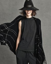 Gigi Burris Millinery   Green Requiem Handmade Wool Wide-brim Fedora Hat   Lyst