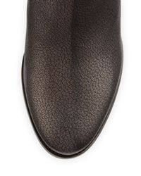 Jimmy Choo - Brown Method Metallic Leather Ankle Boot - Lyst