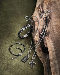 John Hardy - Men's Classic Chain Black Jade Cross Pendant Necklace for Men - Lyst