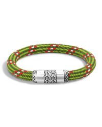 John Hardy | Natural Classic Chain Multicolor Cord Bracelet | Lyst