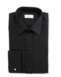 Eton of Sweden | Black Metallic Dotted Formal Shirt for Men | Lyst
