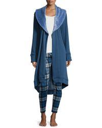 UGG - Natural Duffield Shawl-collar Robe - Lyst