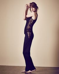 La Perla | Black Iris Lace Pajama Bottom | Lyst