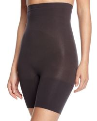 Spanx - Black Higher Power Short Shaper - Lyst
