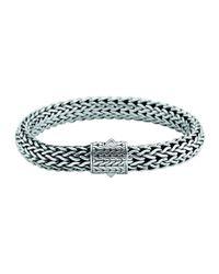 John Hardy - Blue Men's Large Classic Chain Bracelet for Men - Lyst