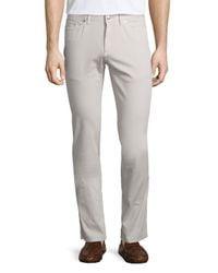 Peter Millar | White Five-pocket Stretch-cotton Pants for Men | Lyst