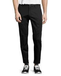 Theory | Black Zaine Slim Straight-leg Pants for Men | Lyst